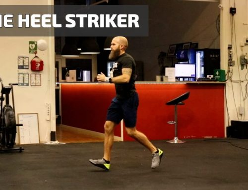 The heel striker