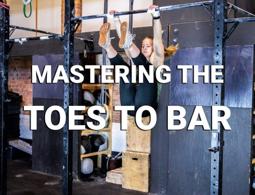 Mastering the Toes to bar